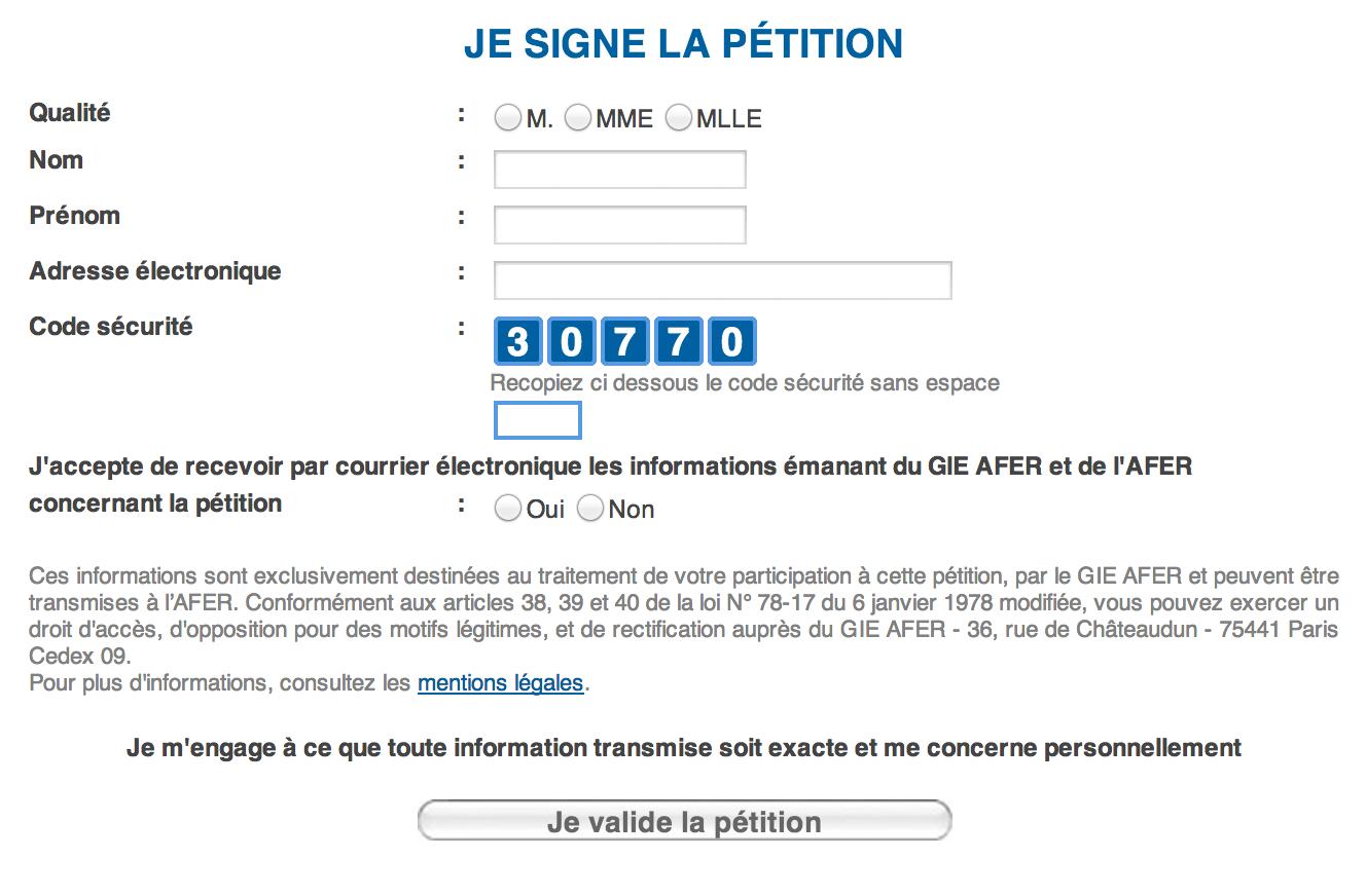visuel post tribune L'Afer lance aujourd'hui une grande pétition pour la défense de l'assurance vie