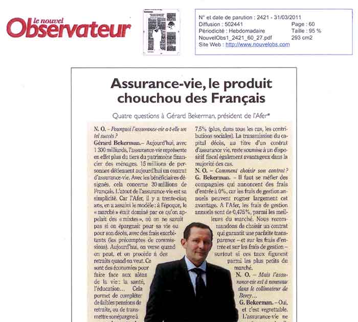 visuel post tribune Assurance vie, le produit chouchou des Français