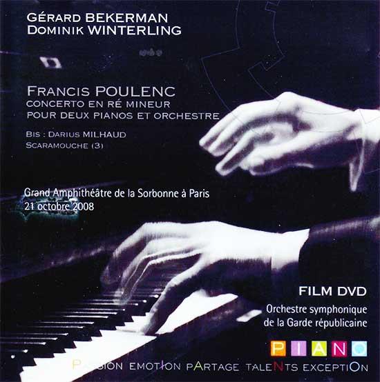 Gérard Bekerman joue Poulenc