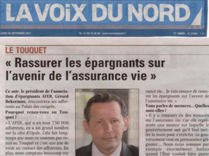 Voix Du Nord Gérard Bekerman