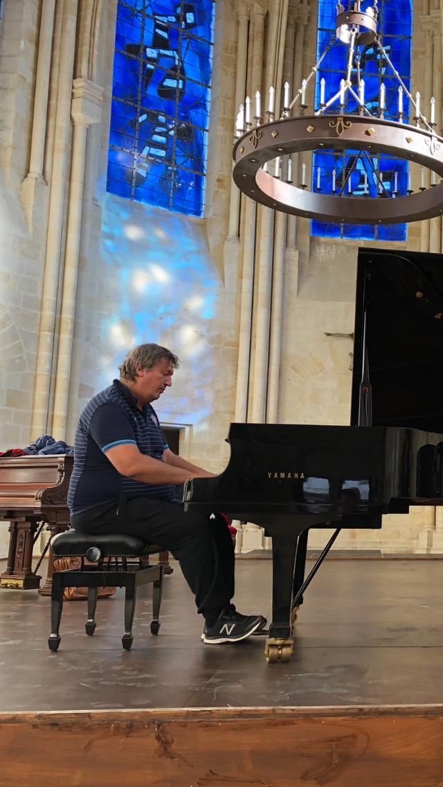 Boris Berezovsky en concert à Senlis