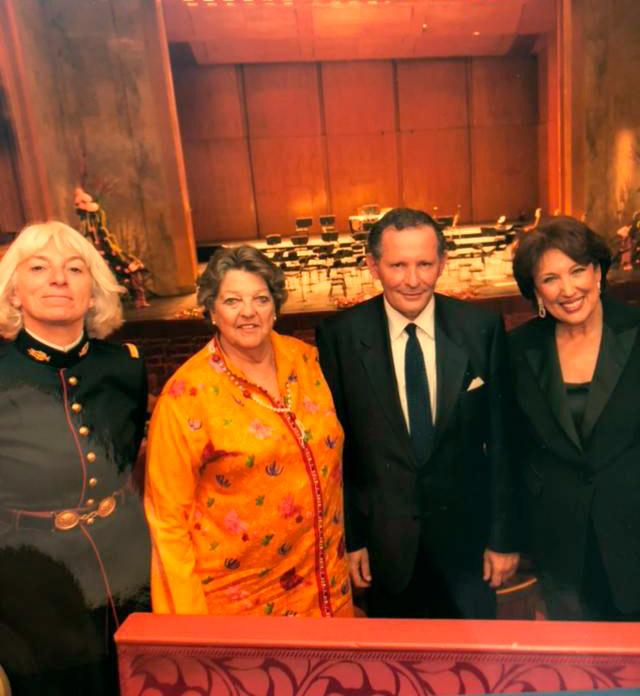 Soirée de la Ligue contre le cancer avec I.Boureau Post, Chantal de France et Roselyne Bachelot