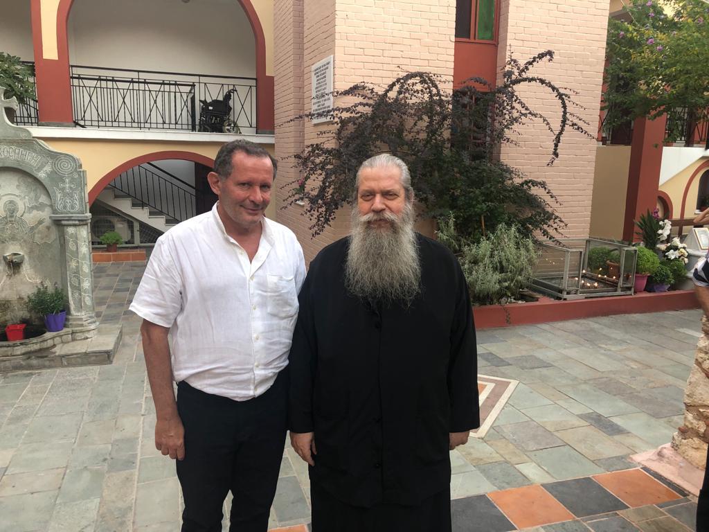Monastère Osios David à Evia