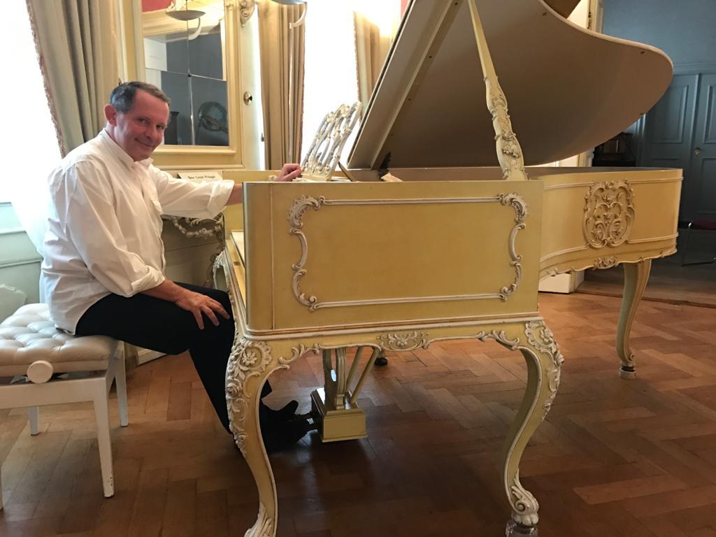Bayreuth et le piano de F.Liszt