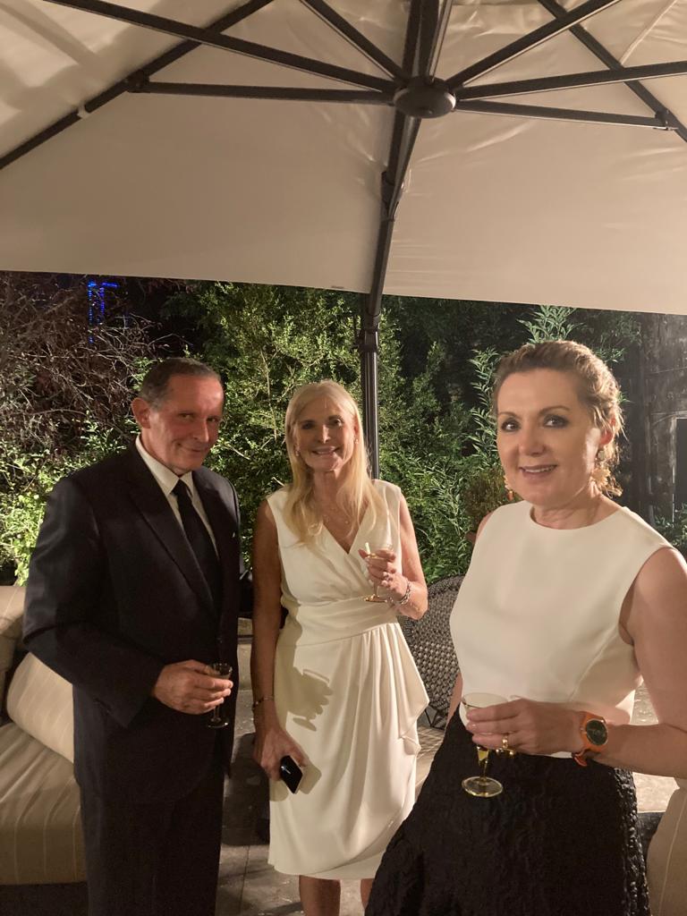 Teresa Castaldo (Ambassadrice d'Italie) et Maria Theofili (Ambassadrice de Grèce)