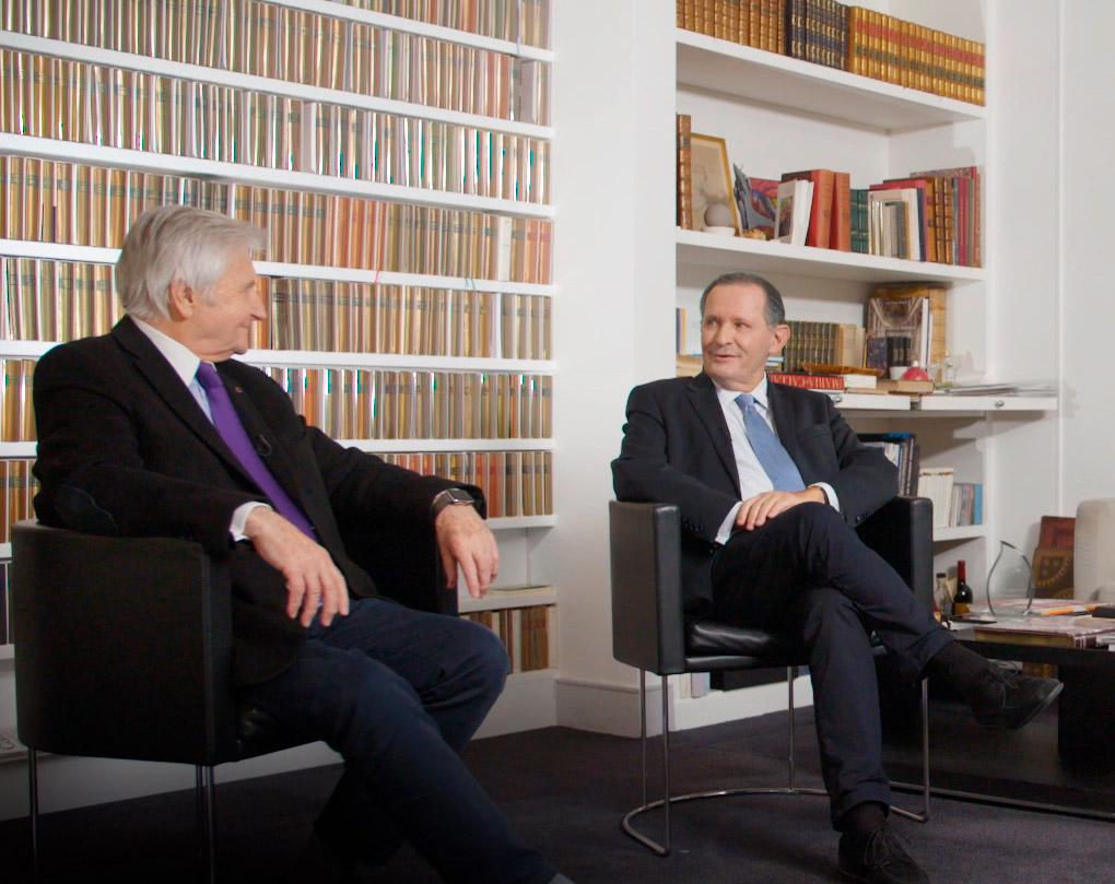 Rencontre avec Jean-Claude Trichet, ancien gouverneur de la Banque de France et Président de la BCE de 2003 à 2011